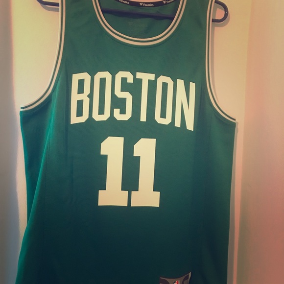 best authentic 222db 16bae Authentic Kyrie Irving Celtics Jersey